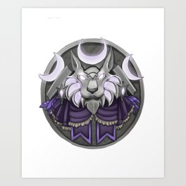 Light crest Art Print