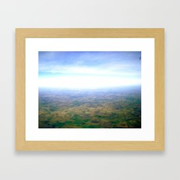 Skies Over Argentina  Framed Art Print