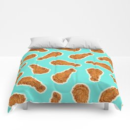 FRIED CHICKEN Comforters