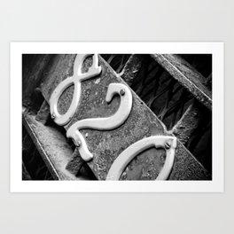 Signs: 820 Art Print