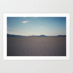 Alvord Desert Art Print
