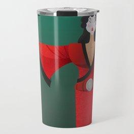 Vector Geisha (Turning Japanese) Travel Mug