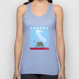 Laguna Beach - California. Unisex Tank Top