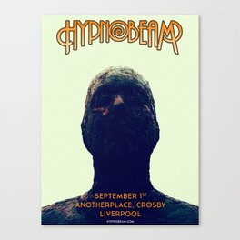 Gig Poster for Another Place, Crosby, Liverpool Canvas Print