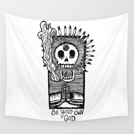 Be Your Own God. Wall Tapestry