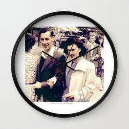 REG - MAUD, BLACKPOOL 1948 2 Wall Clock