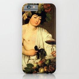 Merisi da Caravaggio - Bacchus iPhone Case