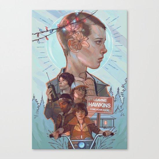 Stranger Kids Canvas Print