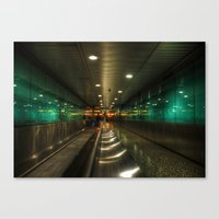 the lights Canvas Prints featuring Lights by Svetlana Sewell