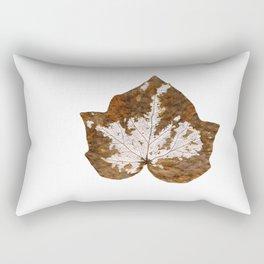 Skeleton leaf I Rectangular Pillow