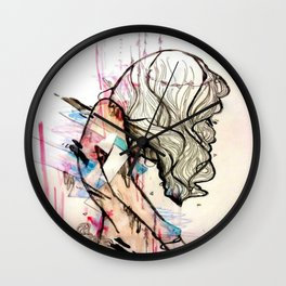 Collapsing Structures Wall Clock