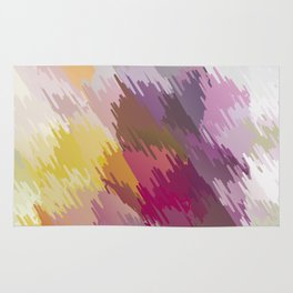 Abstraction. Scribbling with colored pencils . Rug