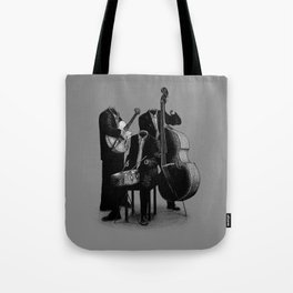 The Invisibles (On Grey) Tote Bag