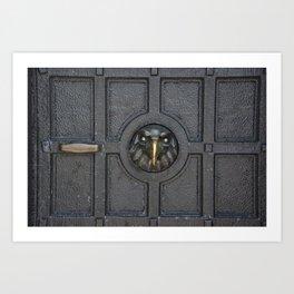 Enter if you dare Art Print