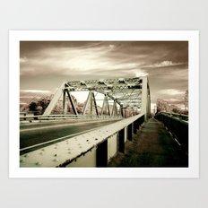 The Green Bridge Art Print