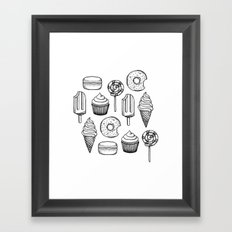 Sweets Framed Art Print