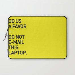 Save the planet. Laptop Sleeve