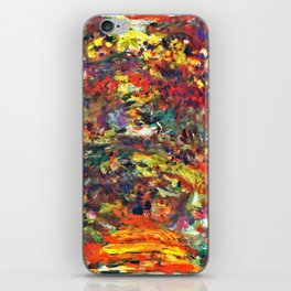 "Claude Monet ""Path under the Rose Trellises, Giverny"", 1922 iPhone Skin"