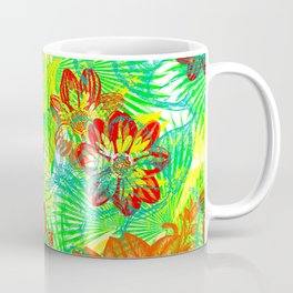 Etched Anemone Coffee Mug