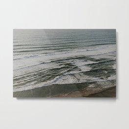 Pacific Ocean Sunset Metal Print