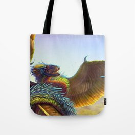 Quetzalcoatl 2018 Tote Bag