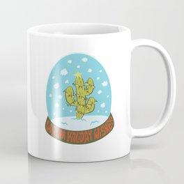 Cactus Snow Globe Coffee Mug