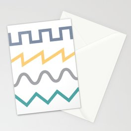 Waveform Stationery Cards