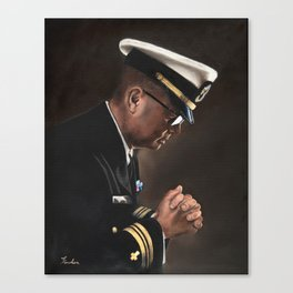Upon My Knees (LCDR) Canvas Print