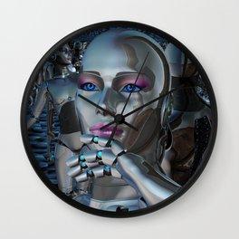 Robotic Chaos Wall Clock