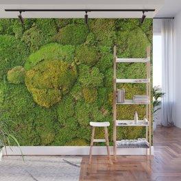 Green moss carpet No2 Wall Mural