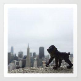 The Mandrill + San Francisco Art Print