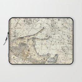Pegasus Constellation Celestial Atlas Plate 12, Alexander Jamieson Laptop Sleeve