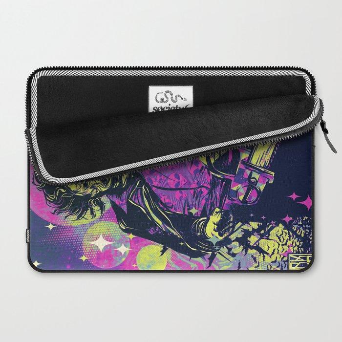 Neon Horror: Leatherface Laptop Sleeve