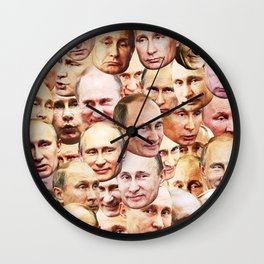 Putin Wall Clock