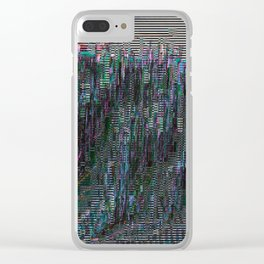perfectly corrupted Clear iPhone Case