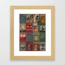 The Golden Age of Book Design Framed Art Print
