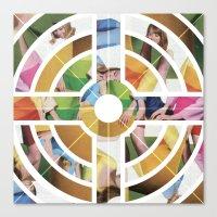 eternal sunshine Canvas Prints featuring Eternal Sunshine by Kieran Sperring