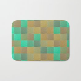 Zig-zag edged felt patchwork II Bath Mat
