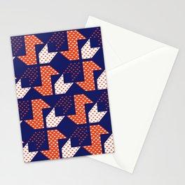 Clover&Nessie Denim/Apple Stationery Cards
