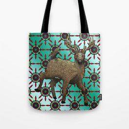 White Tail Deer Tote Bag