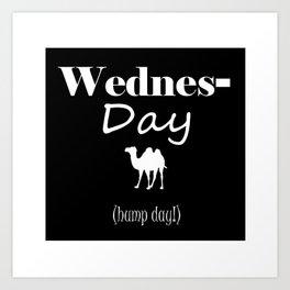 Wednesday Art Print