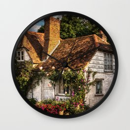 A Chiltern Cottage Wall Clock