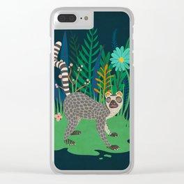 Lemur Clear iPhone Case