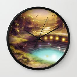 Within the Mesas Wall Clock