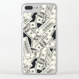 Conversational (Money) : TM17085 Clear iPhone Case