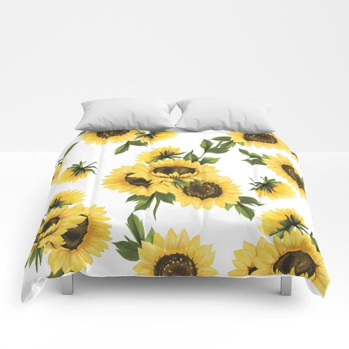 Lovely Sunflower Comforters