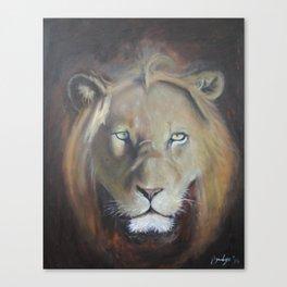 Felis Leo Canvas Print