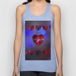 Love surpasses everything Unisex Tank Top