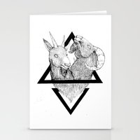 twins Stationery Cards featuring TWINS by lolklos