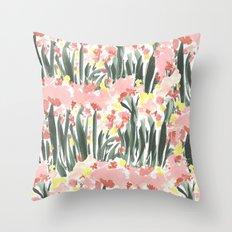 Ugly Garden Throw Pillow